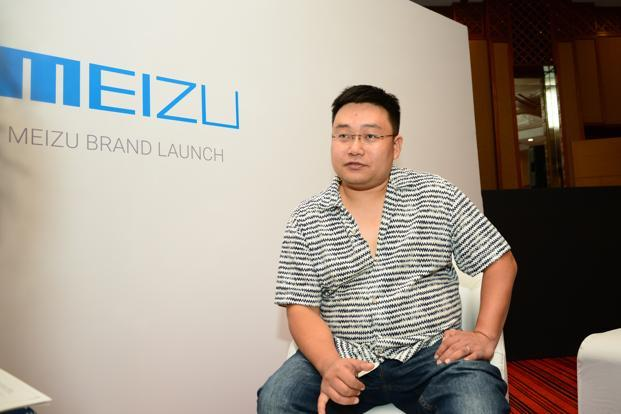 Li Nan, vice president-marketing, Meizu Technology. Photo: Ramesh Pathania/Mint