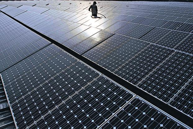 The US raised the dispute over the Indian government's imposition of local content requirements for solar cells and solar modules. Photo: Bloomberg
