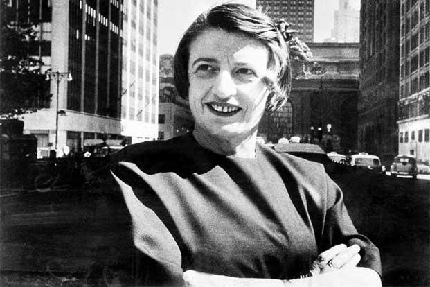 Ayn Rand. Photo: AP