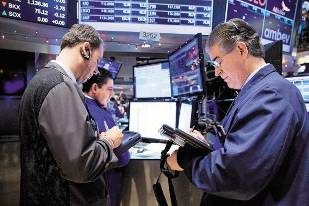 US stocks rose more than 2% on Tuesday, bouncing after steep losses last week. Photo: Bloomberg