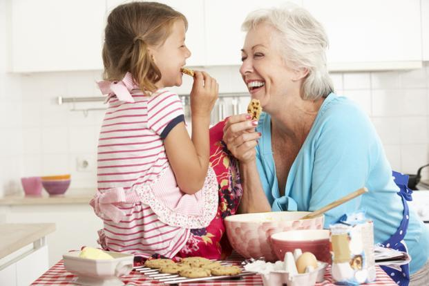 Grandparents all over the world have their own list of yummies to share with their beloved grandkids. Photo: iStockphoto