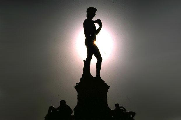The masculine body has long plagued conservatives over the ages, even Michelangelo's famous statue David wasn't spared. Photo: Fritz Rudolf Loewa/Wikimedia Commons