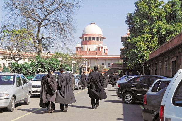 A correlation between the appearance of senior advocates and success in getting an SLP admitted in the Supreme Court is not necessarily equal to causation by the senior tag itself. Photo: Pradeep Gaur/Mint