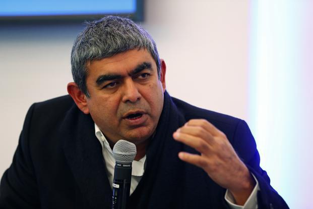 Since former SAP board member Sikka became the first non-founder boss of Infosys last year, 13 senior executives from the German firm have joined the Bengaluru-based company at the rank of vice-president, senior vice-president  and executive vice-president. Photo: Bloomberg