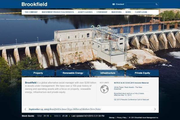 Brookfield to buy out assets in power, energy, finance sectors ...