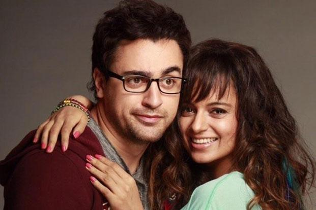 Imran Khan and Kangana Ranaut in a still from 'Katti Batti'