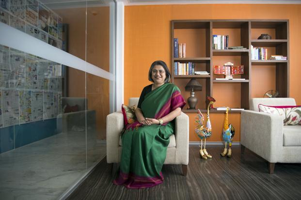 Roopa Kudva, managing director and partner, Omidyar Network, makes a monthly plan and even keeps some time for surprise events. Photo: Aniruddha Chowdhury/Mint