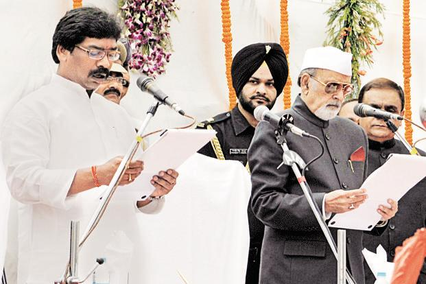 Syed Ahmed was appointed governor of Jharkhand 26 August 2011. Photo: Hindustan Times