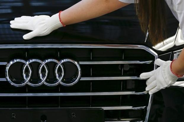 The models fitted with the software were the A1, A3, A4, A6, Q3, Q5 and also the TT. Photo: Reuters