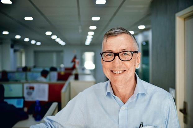 John Godfrey. Photo: Pradeep Gaur/Mint