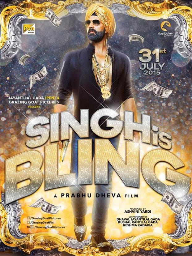 "A poster of ""Singh is Bliing"""