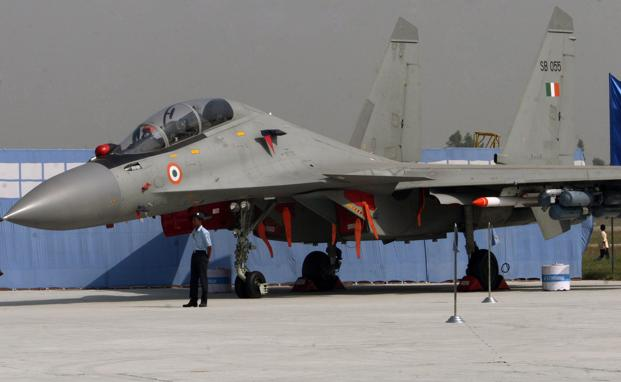 iaf to install bvrs brahmos missiles in sukhoi su 30 fighter jets