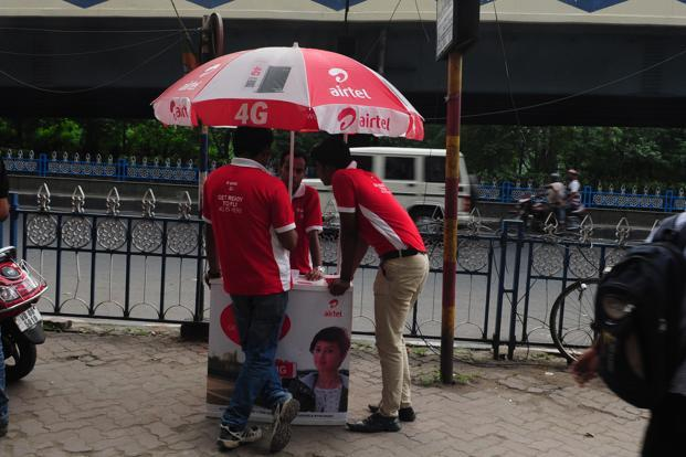 In August, Bharti Airtel launched 4G services in 296 towns across India after testing the market in select cities. Photo: Indranil Bhoumik/Mint