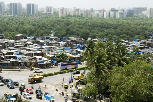 A file photo of the Dharavi slum in Mumbai. Photo: Madhu Kapparath/Mint