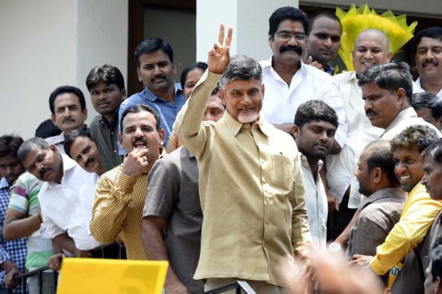 Amaravati is the pet project of Andhra Pradesh chief minister N. Chandrababu Naidu. Photo: Hindustan Times