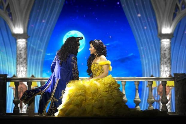 'Beauty and the Beast', directed by Vikranth Pawar features local talent performing to Alan Menken's opulent Oscar-winning score