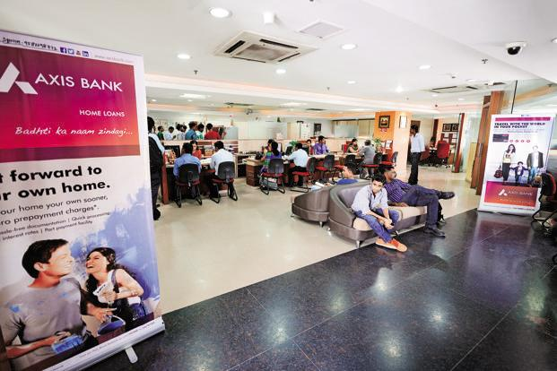 Given that sales to asset reconstructors are never fully in cash, a protracted slowdown could mean that some bit of losses from these loans could come back to bite Axis Bank in the coming quarters. Photo: Priyanka Parashar/Mint
