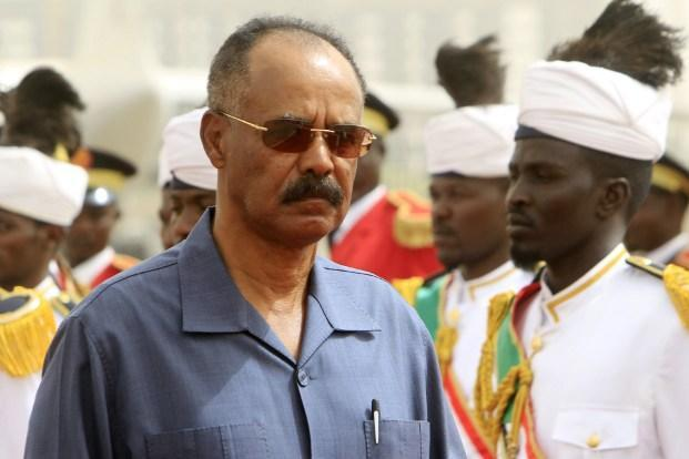 A file photo of Isaias Afwerki. Photo: AFP