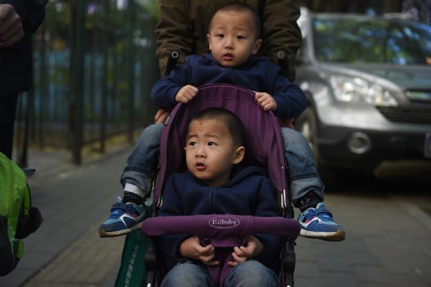 The announcement spurred heated debate on Weibo, a Chinese-language social-media platform. Some users complained they can't afford a second child. Others said they want two because a single one is too lonely. Photo: AFP