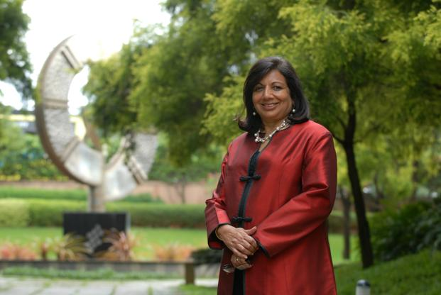 Kiran Mazumdar-Shaw, chairperson and managing director of Biocon. Photo: Hemant Mishra/Mint