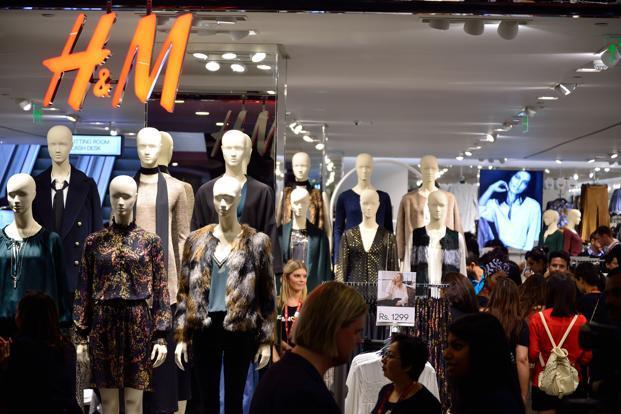H&M recently opened its offline store in Saket, Delhi. Photo: Pradeep Gaur/Mint