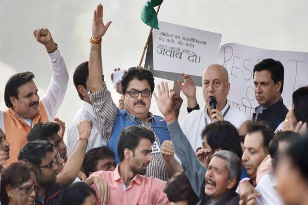 The rebellion, discontent and questioning at a personal and political level by film-makers, including Dibakar Banerjee, Anand Patwardhan and Kundan Shah, has led to an hitherto suppressed outcome—an open onslaught from some of their colleagues, including senior actors like Anupam Kher.