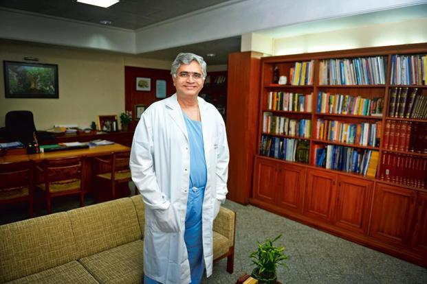 Dr Badwe says 50% of the doctor's work is treatment, the rest is about reassuring patients. Photo: Abhijit Bhatlekar/Mint
