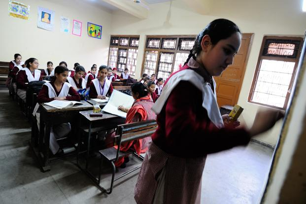 While the income gap between India and OECD has  been narrowing since the 1980s, it is widening in health and education. Photo: Priyanka Parashar/Mint