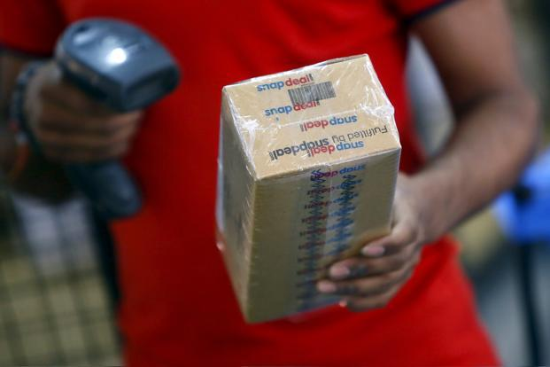 Online retailers, such as Snapdeal, are betting on ads to become a key business. Photo: Reuters