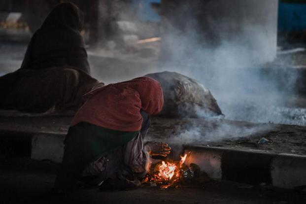 Air quality in the city of 16 million is usually bad in winter, when coal fires are lit by the poor to ward off the cold. Photo: AFP