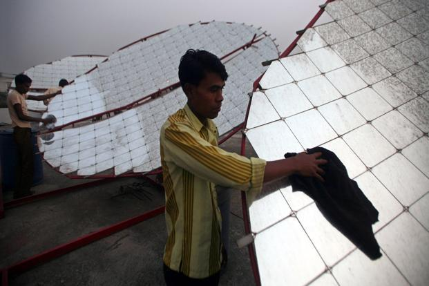 Industry stakeholders are worried about the viability of such low tariffs as project costs, especially solar module prices, did not fall at the same pace. Photo: Reuters