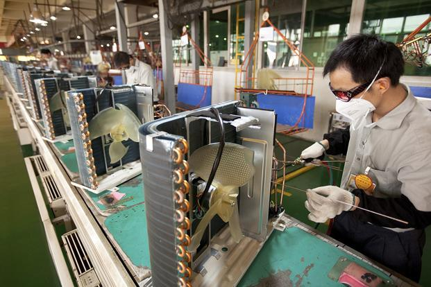 Weak demand is weighing on manufacturing and production activity in most of the Asian countries. Photo: Bloomberg