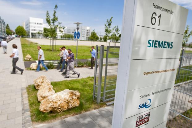 Like other multinationals in the capital goods sector, Siemens' strong parent helps tide over near-term challenges, unlike domestic firms that have been caught in a quagmire of mounting losses. Photo: Bloomberg