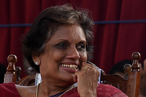 Former president Chandrika Kumaratunga said tens of thousands of victims of the Tamil separatist conflict would not accept reconciliation unless war criminals are brought to justice. Photo: AFP