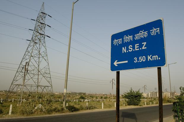 A file photo of Noida SEZ. Photo: Ramesh Pathania/Mint