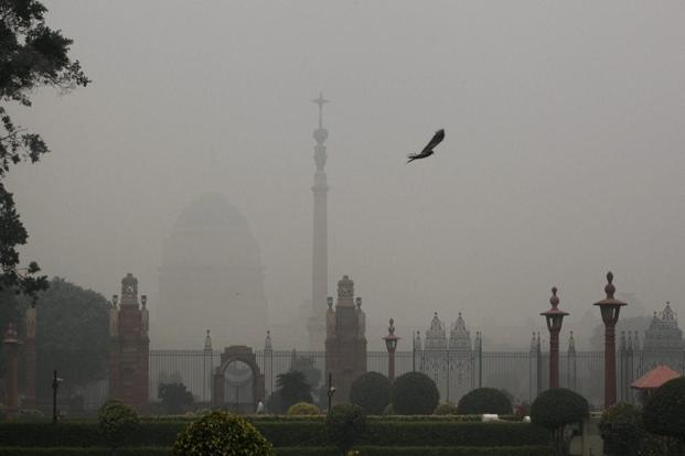 The World Health Organization (WHO) has ranked Delhi's air the dirtiest in the world for the second year in a row in 2015. Photo: PTI