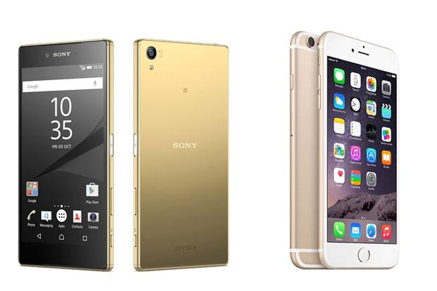 you for iphone 6s vs sony xperia z5 premium kan bestilles direkte