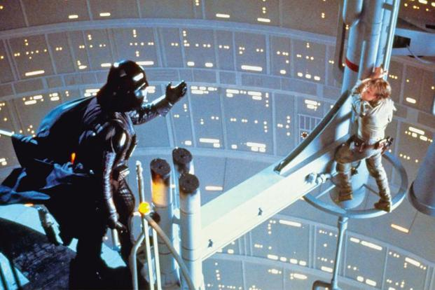 A scene from The Empire Strikes Back.