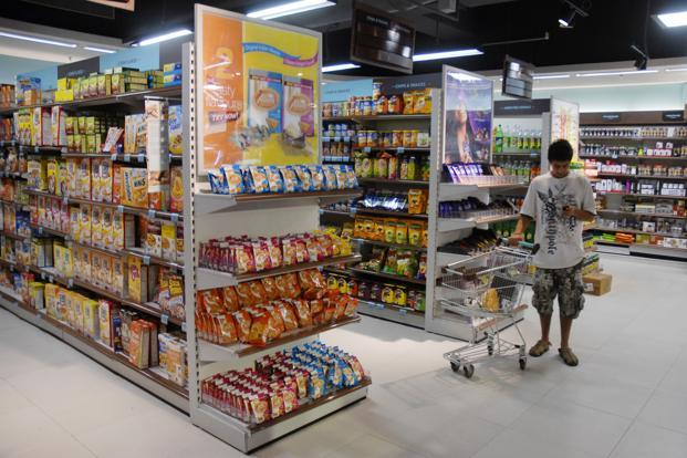 Indian shoppers spent most on dairy products, pastas, ketchups, jams, baby food, and buy more beverages and frozen foods as part of their groceries. Photo: