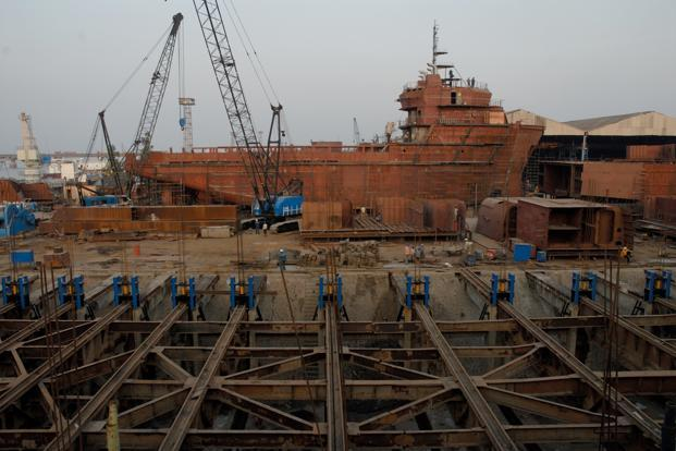 That the shipbuilding policy took 17 months for cabinet approval after finance minister Arun Jaitley announced it in his budget speech on 10 July 2014 by itself shows the many hurdles it faced. Photo: Mint