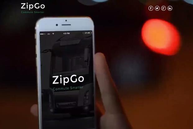 ZipGo operates an app that allows registered members to book rides along different points on preset routes, similar to a city bus or shuttle service.