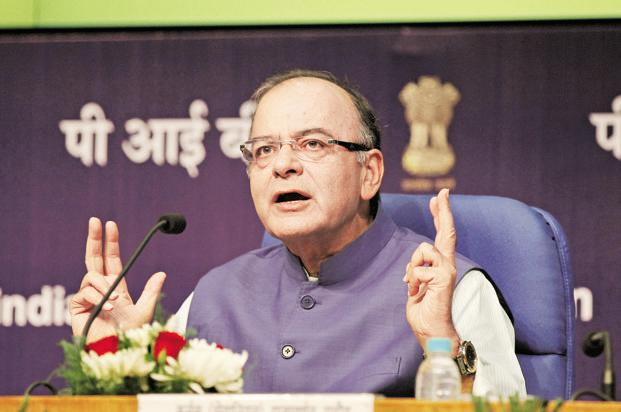 The bill was tabled in Lok Sabha by finance minister Arun Jaitley as the government moves ahead with its reform agenda despite a setback in its efforts to pass the constitutional amendment required to implement the GST by 1 April.  Photo: HT