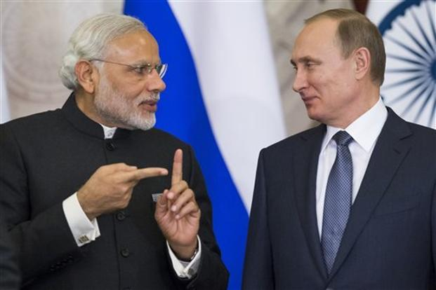 Image result for narendra modi with Russian President Vladimir Putin