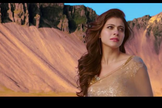 Kajol in a still from 'Dilwale'