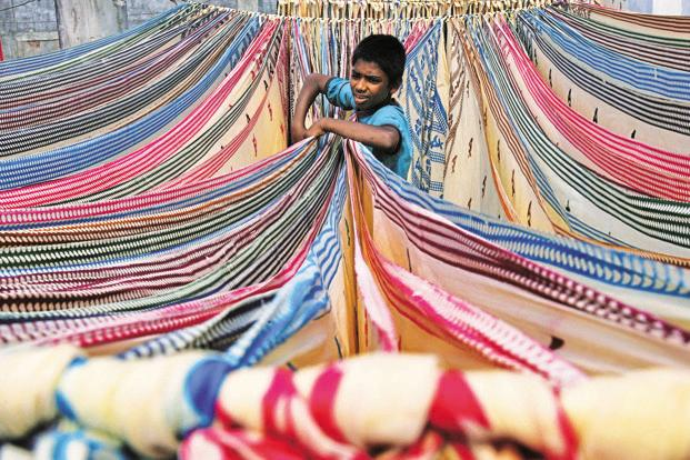 Researchers who manage to contact the children estimate that around a fifth of the workers are children below 14 years, whose employment is barred under child labour prevention laws. Photo: Reuters