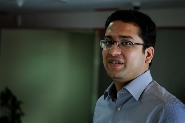 Binny Bansal, new CEO of Flipkart. Photo: Pradeep Gaur/Mint