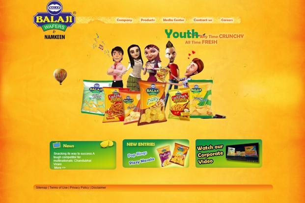 balaji wafers pvt ltd Balaji product media center contact us careers snacking its way to success  a tough competitor for multinationals: chandubhai virani more  sitemap.