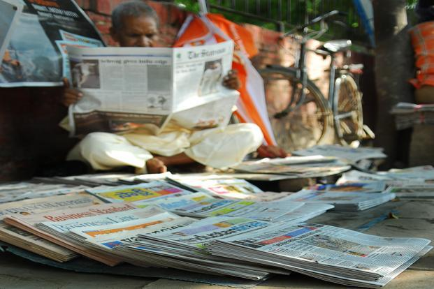 Print advertising will expand 6%, compared to 5.2% last year. Photo: Priyanka Parashar/Mint