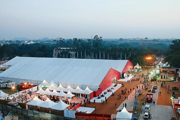 The 2015 IAF had over 80,000 visitors. Photo courtesy India Art Fair