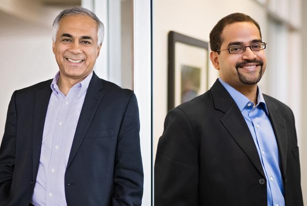 NVP senior managing partner Promod Haque (left) and NVP India managing director Niren Shah.